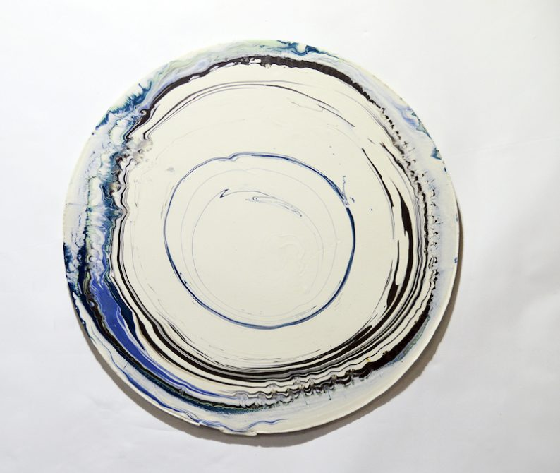 Array, porcelain, 48cm diameter, 2018(1) copy