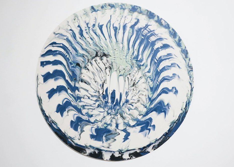 Wring, porcelain, 47.5 diameter, 2018