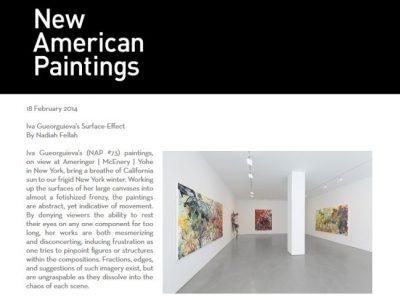 new american paintings image